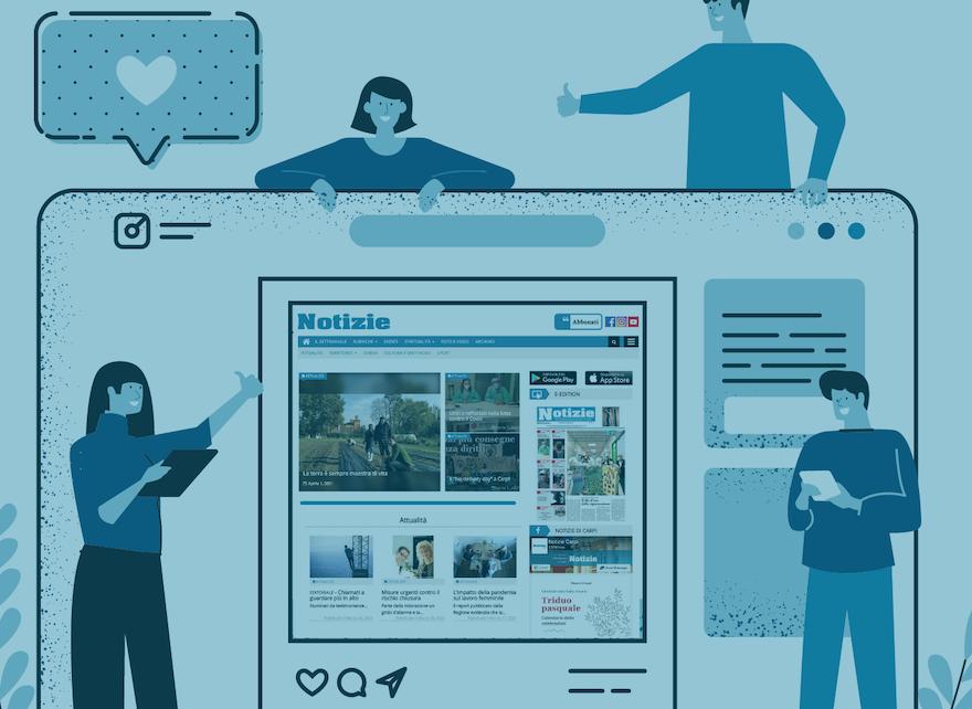 """Dai """"seminatori digitali"""" alla sfida dell'informazione on-line"""