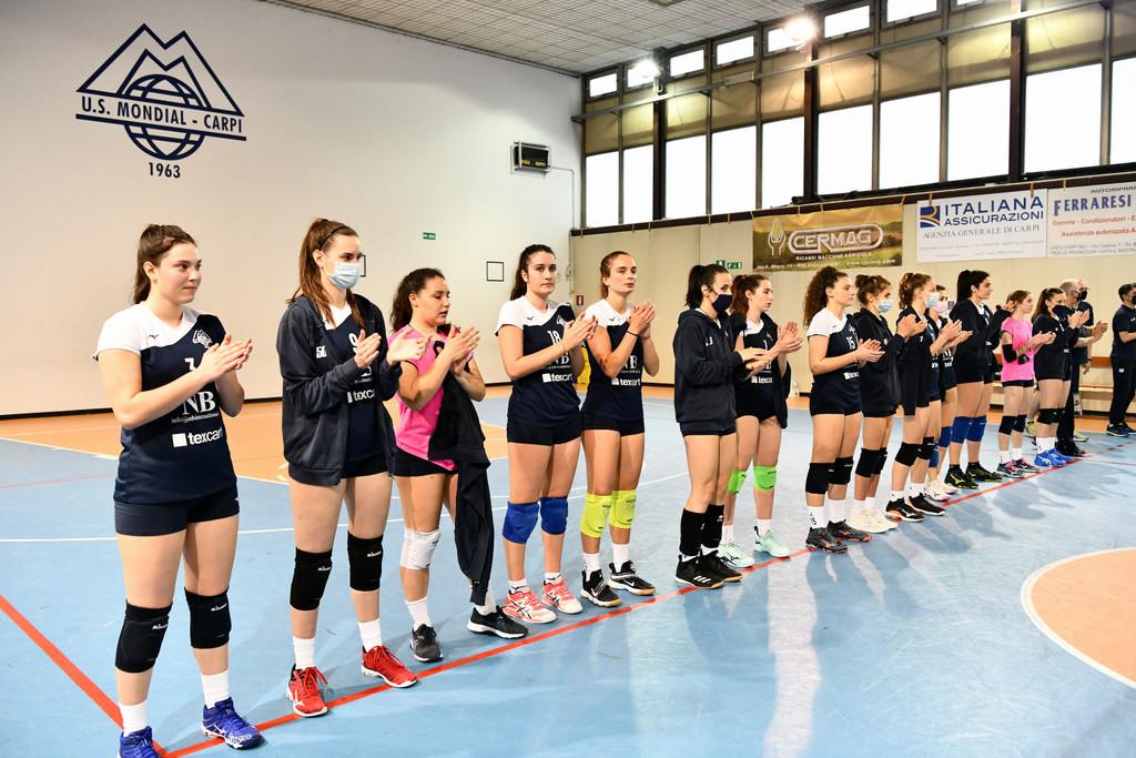 Volley, Mondial sconfitta a Cavezzo