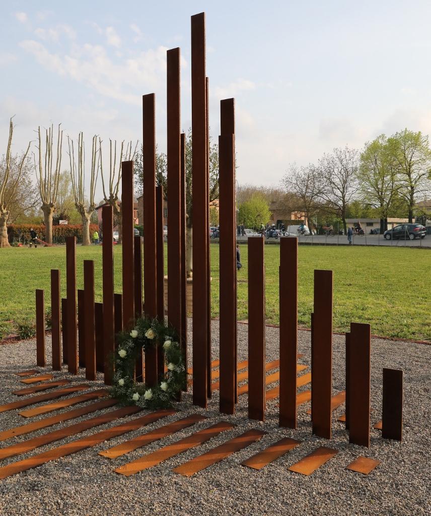 Commemorazione dell'anniversario del sisma del 29 maggio 2012