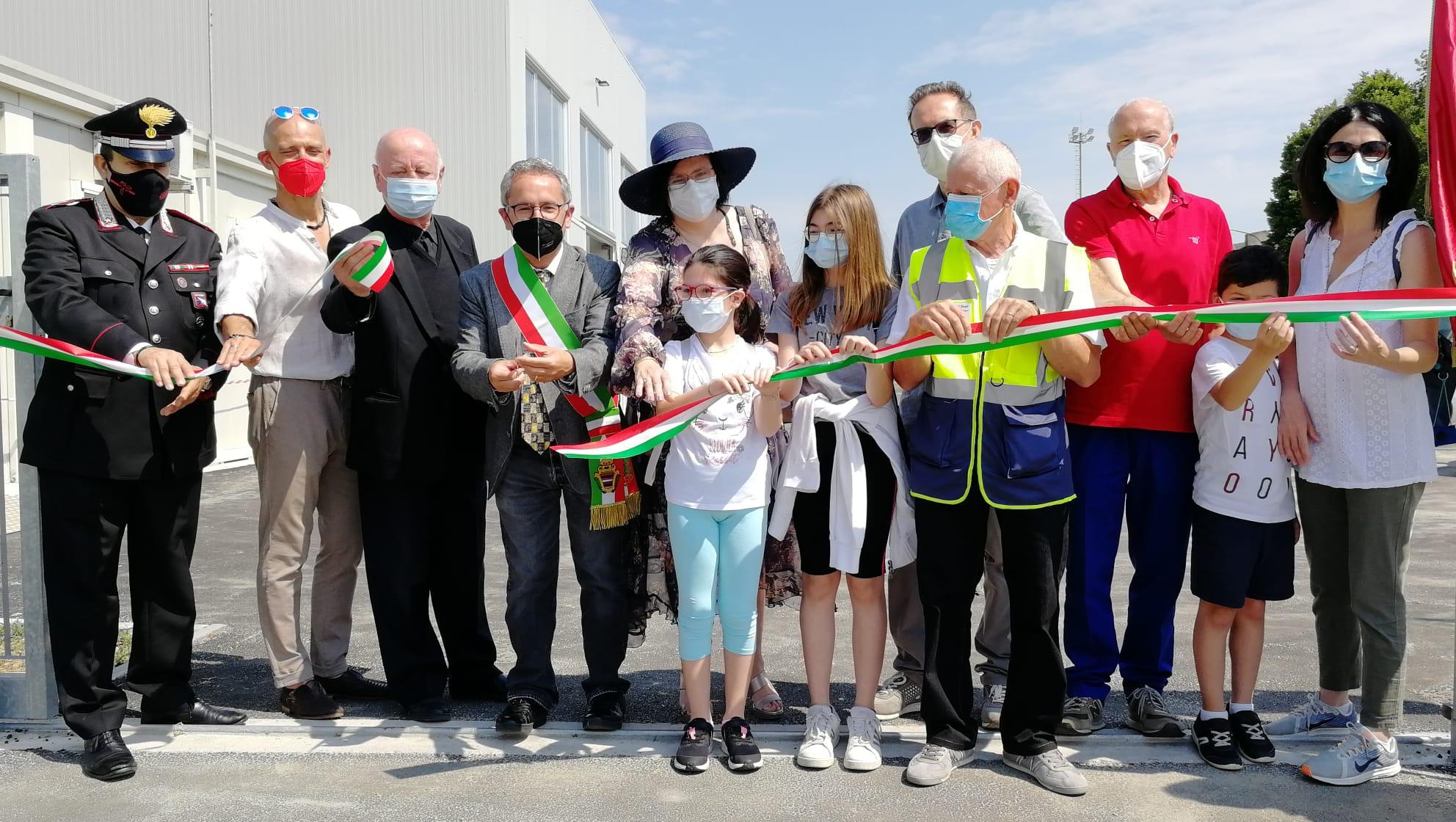 Novi, inaugurato il nuovo centro riuso