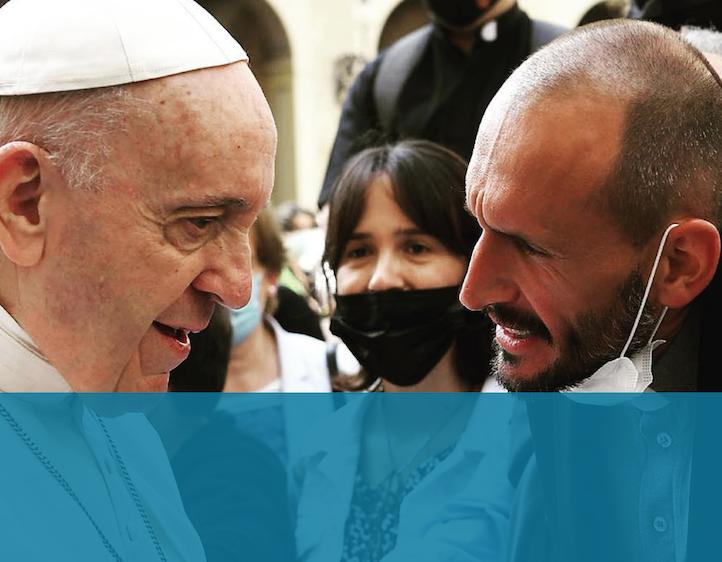 """""""Porta pace!"""" – Le parole del Papa per don Luca"""