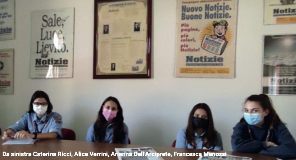 Giovani giornaliste. Le attività scout in tempo di pandemia