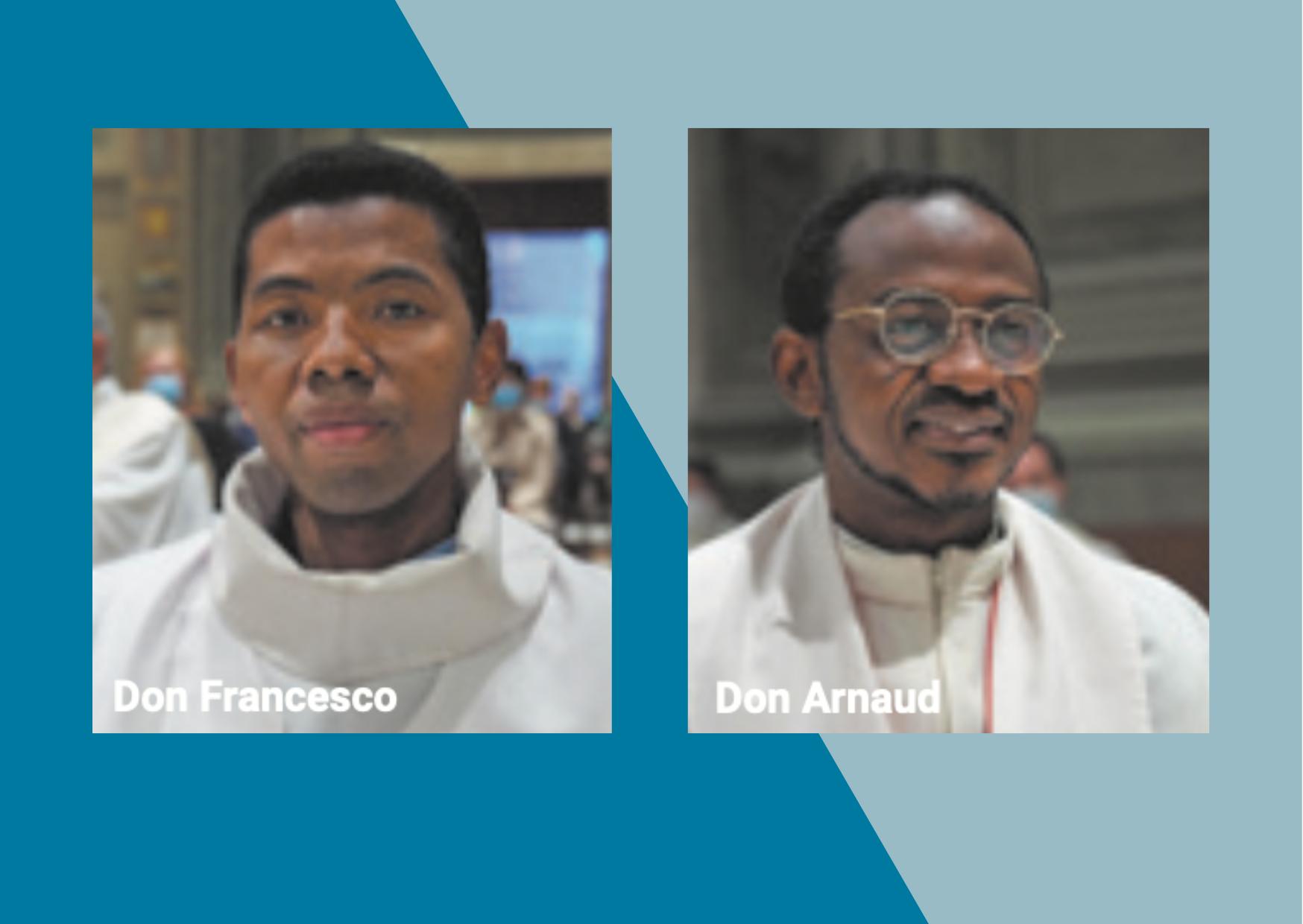 Nuovi vicari parrocchiali