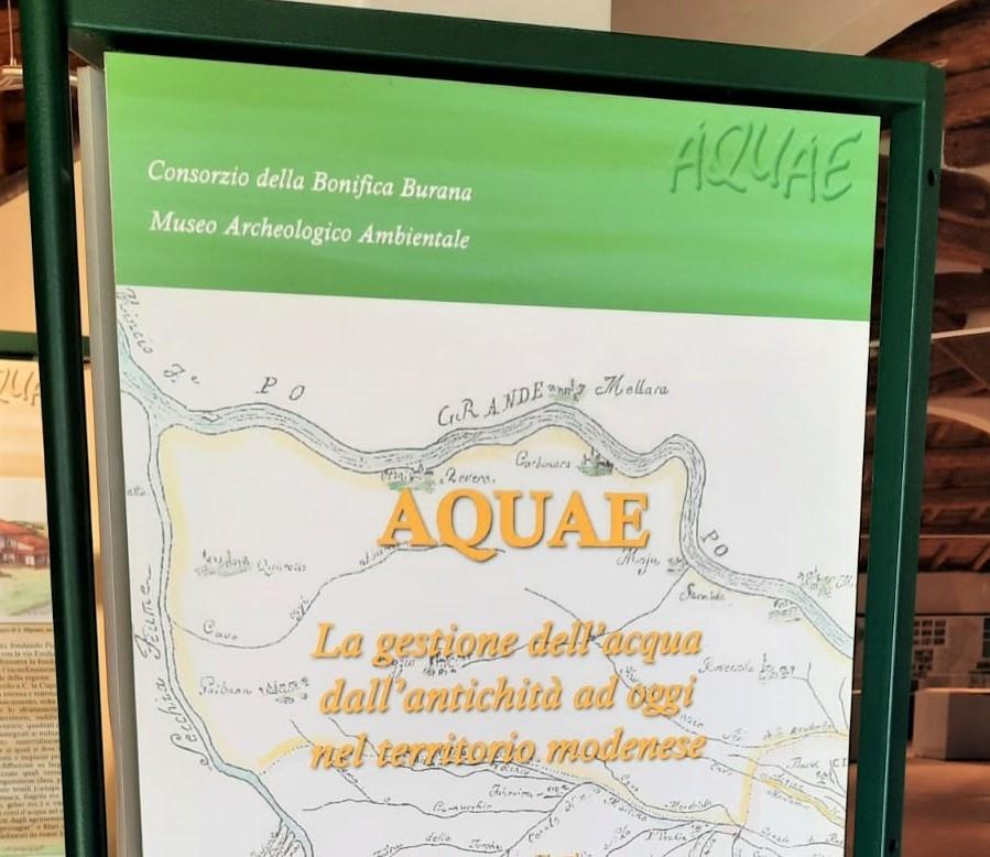"""""""AQUAE"""" – Una mostra sulla gestione dell'acqua dall'antichità ad oggi"""
