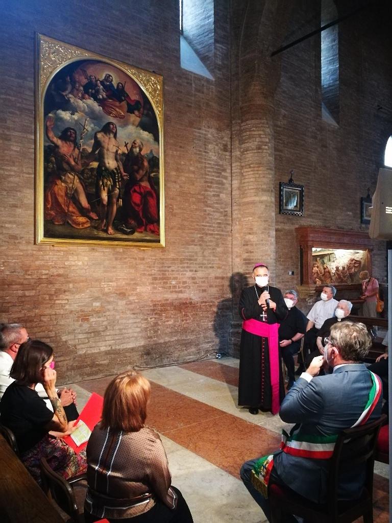 Modena – La pala di San Sebastiano di Dosso Dossi torna in Duomo