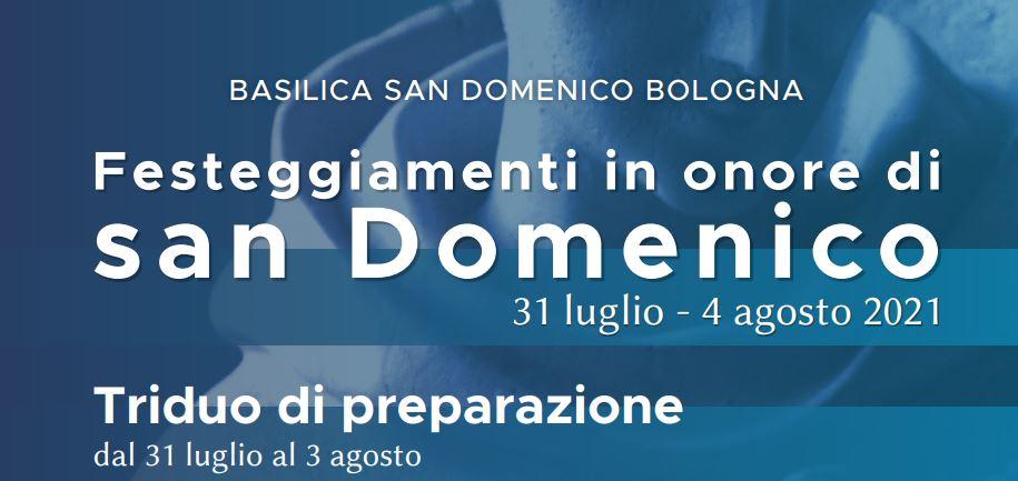 Il 4 agosto è l'VIII centenario della morte di San Domenico