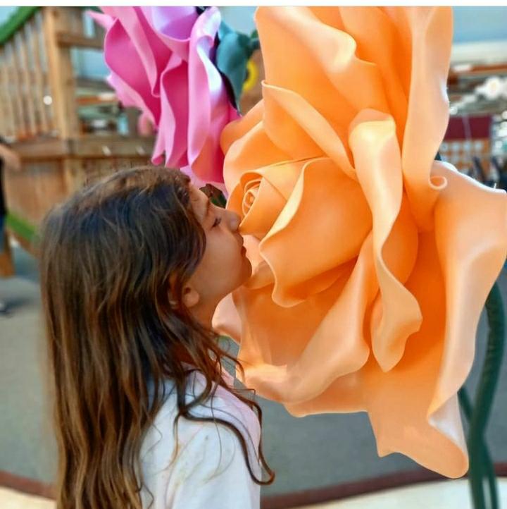 Il Borgogioioso, prosegue l'installazione sui fiori