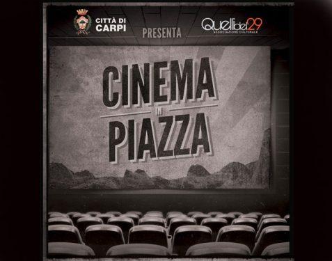 """""""Cinema in Piazza"""": appuntamento stasera sotto le stelle"""