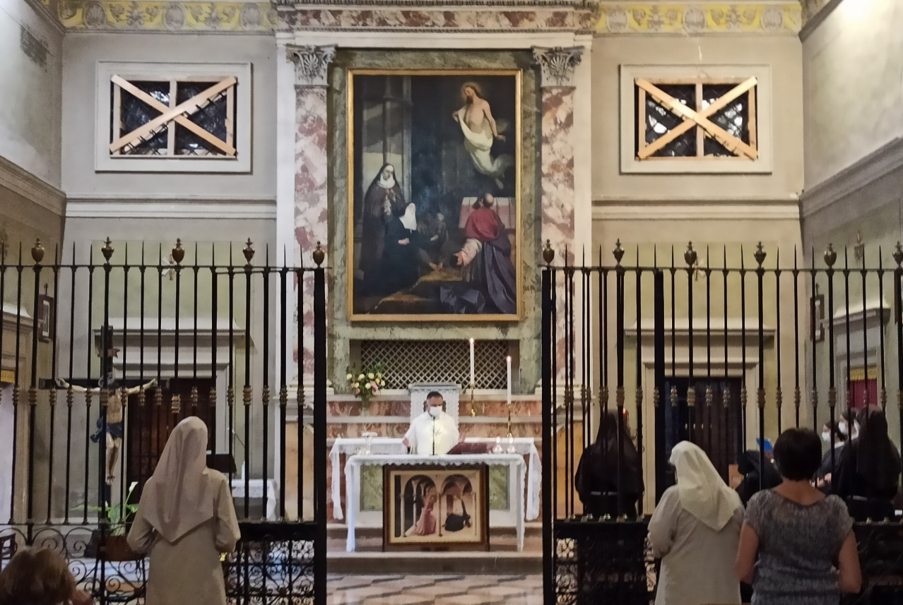 Le Sorelle Clarisse hanno incontrato il Vescovo