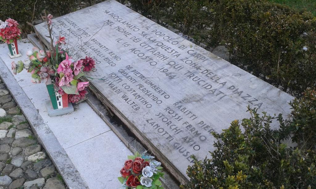 Il 16 agosto Carpi commemora i 16 martiri