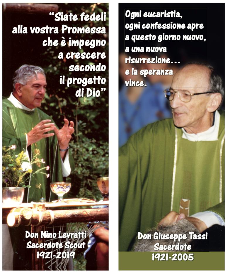 """Don Tassi e don Levratti – """"Campioni locali"""" del serpente innalzato"""
