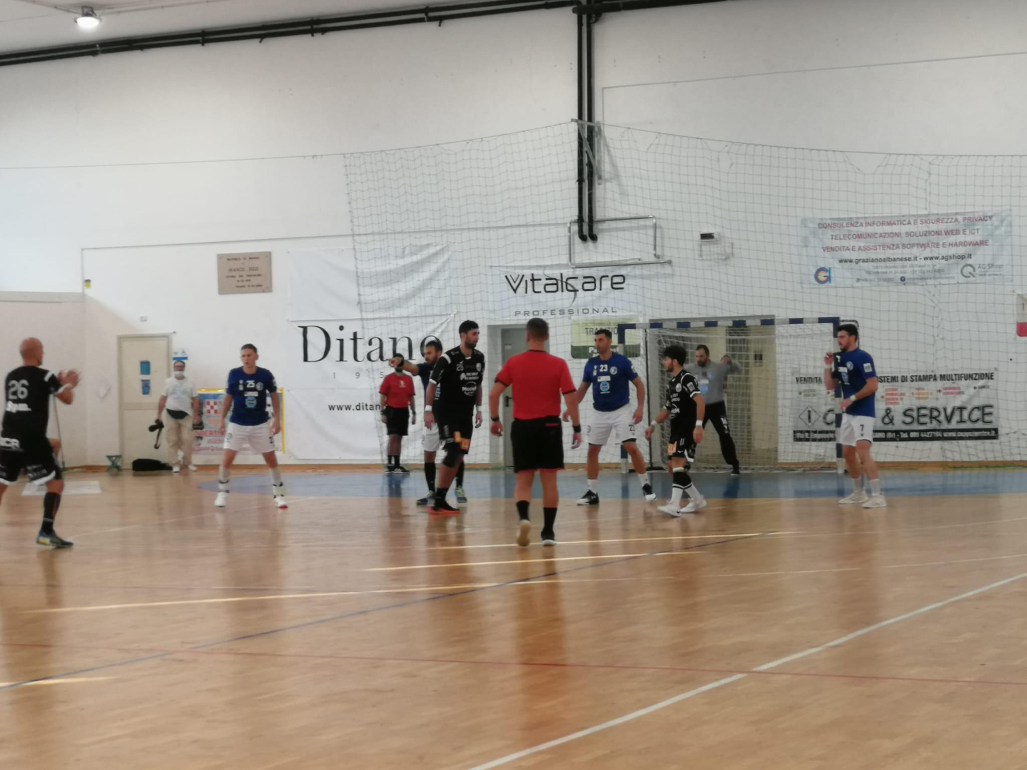 Pallamano, Carpi battuta dal Fasano. In Puglia finisce 30-24
