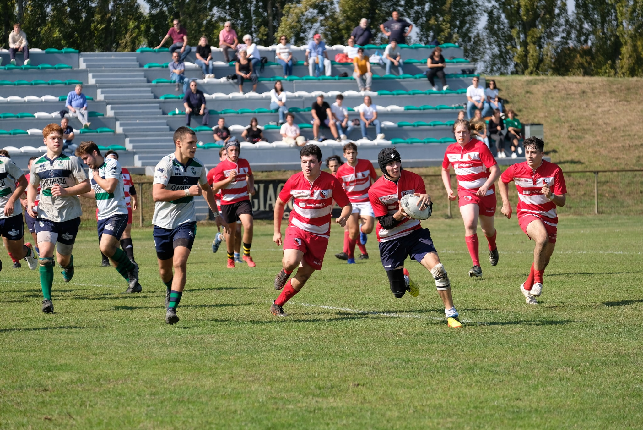 Rugby Carpi al via il 17 ottobre, giovanili sconfitte all'esordio